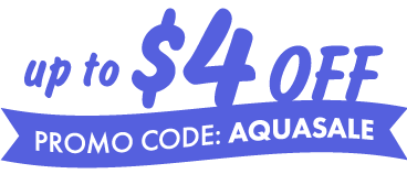 Up to $4 off General Admission, Promo Code: AQUASALE